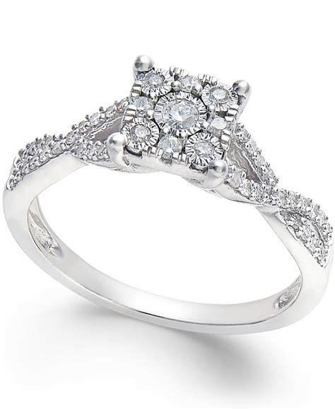 no vendor princess cut promise ring 1 4 ct t w