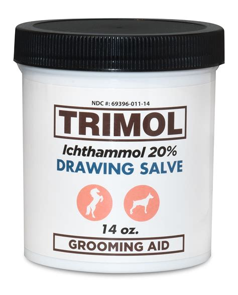 Drawing 8 Trek Ointment by 2 Pack Ichthammol Ointment 20 Drawing Salve