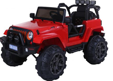 Motorized Jeep For Rocket Wrangler Electric Battery Ride On Jeep