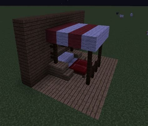 wie baut in minecraft ein bett ᐅ himmelbett in minecraft bauen minecraft bauideen de
