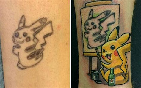 tattoo designs to cover old tattoos 10 creative cover up ideas to fix fails