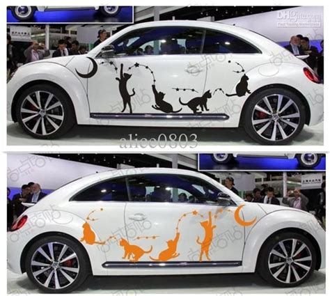 Car A Sticker by Funning Cat High Quality Car Stickers Accessories