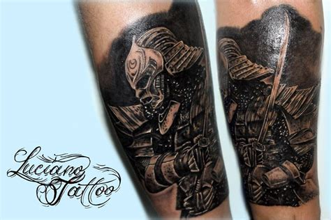 tattoo cover up utah samurai by luciano pignatiello tattoo