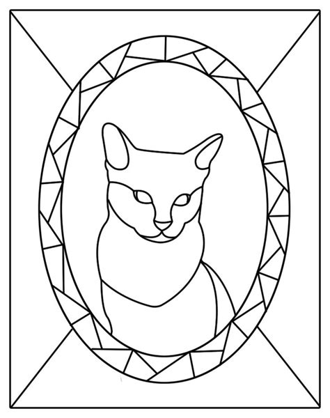 Free Kitten Patterns Stained Glass Patterns For Free Cat Stained Glass Patterns Mosaic Mosaic Patterns Templates