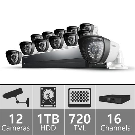samsung security system samsung sds p5122 16 channel dvr security