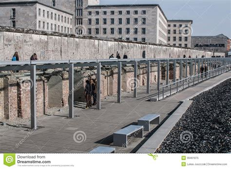 berlin s house of tools topography of terror museum berlin germany editorial
