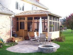screen porch paver patio in hawthorn woods il screened porches photo gallery archadeck of