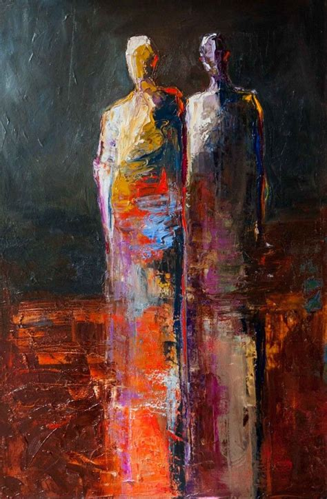 saatchi two figures painting by 1000 images about lovely on