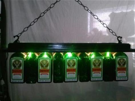 captain pool table light jagermeister pool table light chandelier liquor bottle