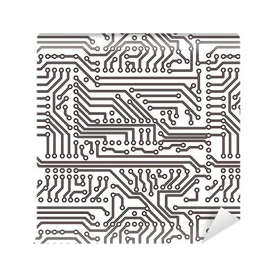 circuit pattern png vector seamless pattern electronic circuit board