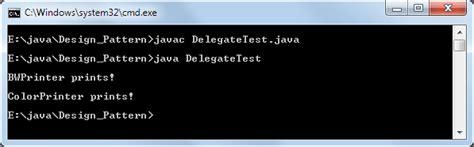 pattern delegate java einf 252 hrung in java design patterns software entwurfsmuster