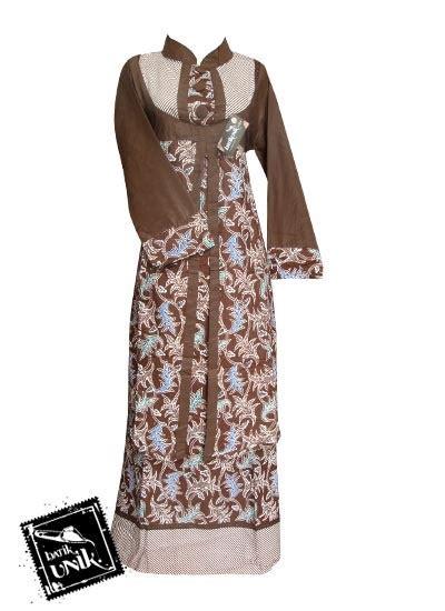 Sarimbit Nabila 2 Murah Batik Sarimbit Keluarga Muslim baju gamis batik coklat newdirections us