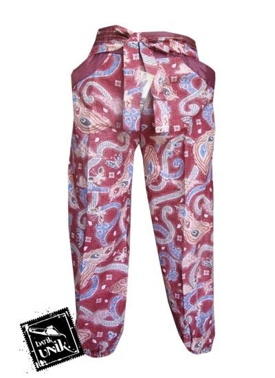 Celana Batik Zr celana batik wanita panjang motif batik modern bawahan