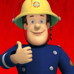pics photos fireman sam funny faces paperback