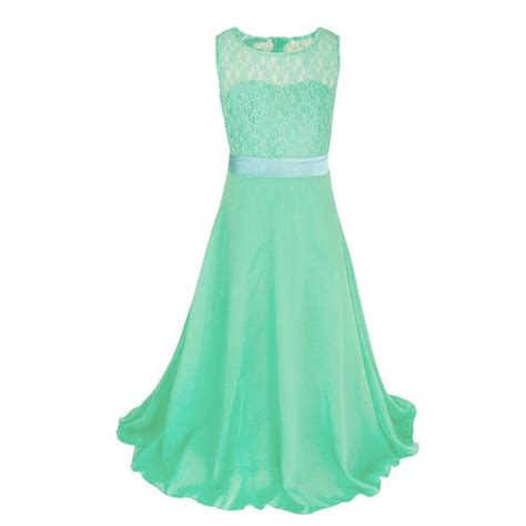 Kid Dress Lace lace princess dress children pageant wedding