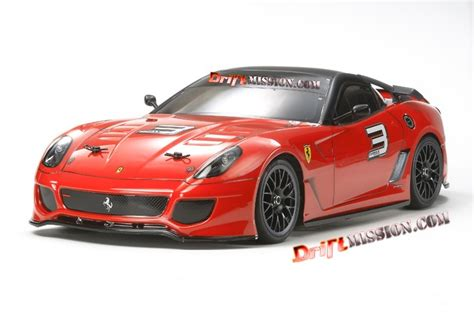 Ferrari R C by Tamiya Ta 06 Ferrari 599xx 4wd Rc Touring Car Driftmission