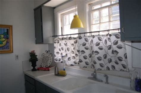 Kitchen Cafe Curtains Ideas Cafe Curtains For Kitchen Ideas