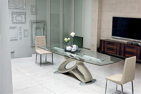 tavoli allungabili vetro tavolo target eclipse tavolo in ristallo rettangolari