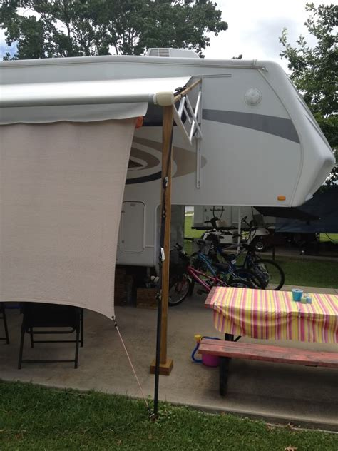 jayco eagle awning securing awning in wind jayco rv owners forum