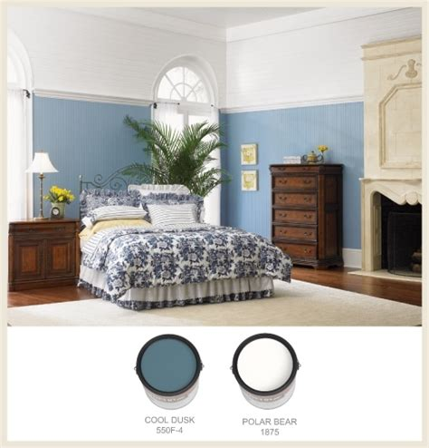 colorfully behr blue willow