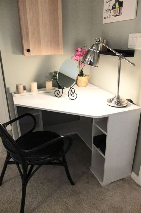 Corner Vanity Desk by Best 25 Corner Desk Ideas On Corner Office