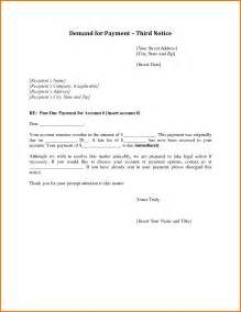 demand letter templates 5 demand letter for payment worker resume