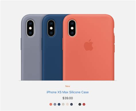 apple debuts new cases for the iphone xs and xs max new apple bands