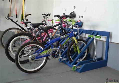 diy bike  scooter rack  tool belt