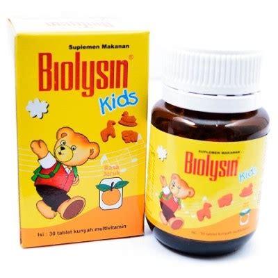 Biolysin Tablet Anak Rasa Jeruk jual biolysin rasa jeruk isi 30 tablet prosehat