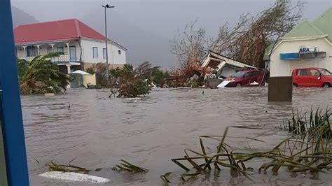 hurricane irma st martin hurricane irma destroys 95 of part of st martin