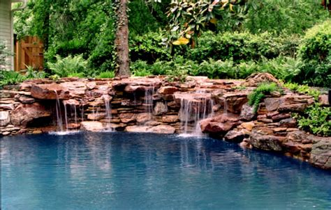 natural backyard pond rock garden ideas to make your looks more natural home