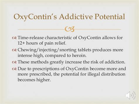 Oxycontin Detox Methods by Oxycontin Teachback