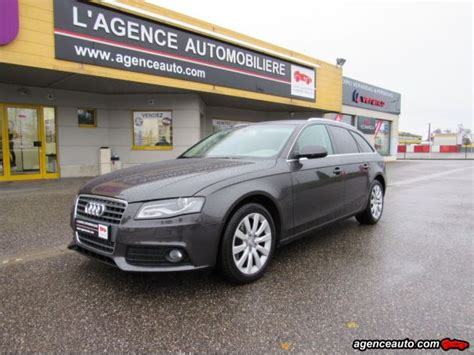 Audi A4 Avant Ambition by Audi A4 Avant 2 0 Tdi 143 Ambition Luxe Occasion Mulhouse