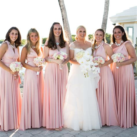 5 Bridesmaid Dresses For And Summer by Aliexpress Buy 2016 Summer Blush Pink Multiway