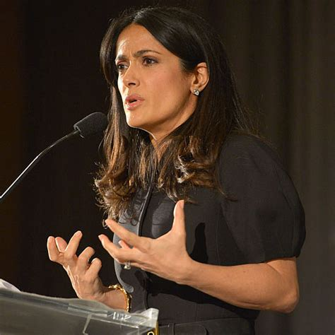 Salma Hayeks All Pink Baby Shopping Spree by Salma Hayek Launches Chime For Change Popsugar