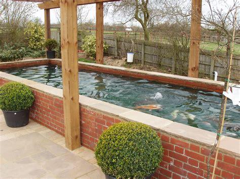 Raised Garden Pond Ideas Pond Design Ideas Raised Koi Ponds Pond Uk Dorset