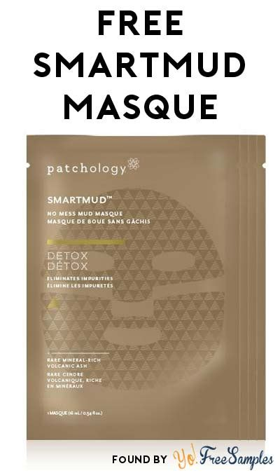 Patchology Smart Mud Detox by Free Patchology Smartmud Masque Sle Yo Free Sles