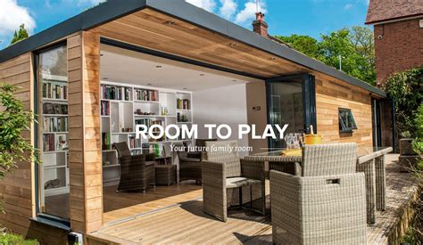 Prefab Luxury Homes garden rooms by future rooms ideal as garden offices pods