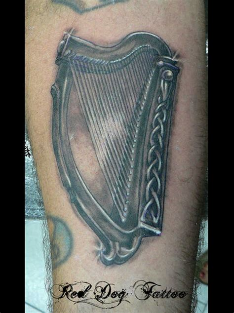 92 authentic irish celtic tattoos knot trinity harp band