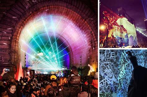dumbo festival of lights instagram round up new york festival of lights turns