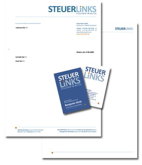 Geschäftspapier Vorlagen Muster Designbuero Schmidt Briefbogen Geschaeftspapiere
