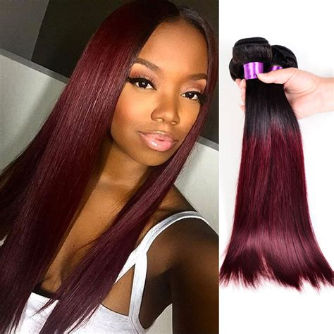 ombre weave hair styles that suit my face red ombre weave hairstyles fade haircut