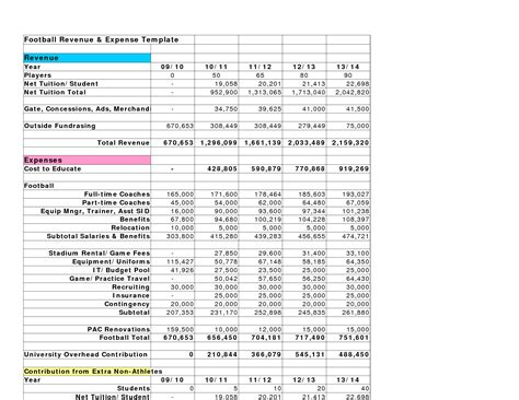 income and expense statement template best photos of revenue and expenses template income and