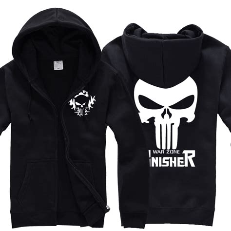 Sweater Hoodie The Puniser Best Clothing xhtwcy the punisher no sweat skull logo hoodie