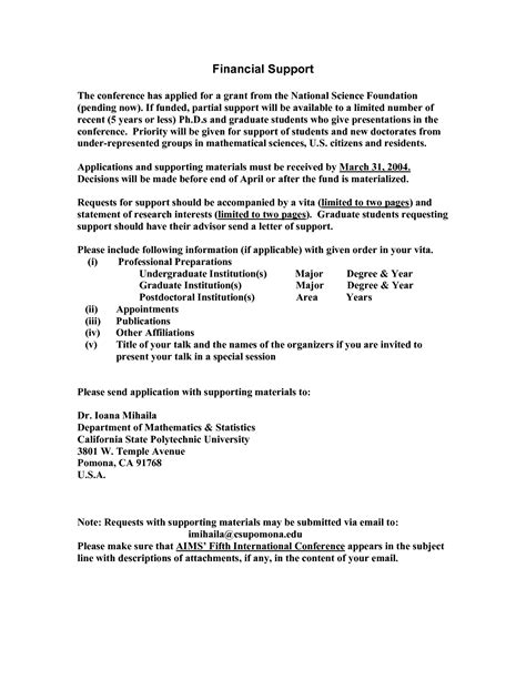 Nsf Research Template Nsf Grant Sle Nsf Grant Application Other