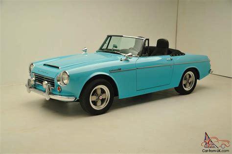 datsun roadster 1967 datsun roadster 1600 fairlady