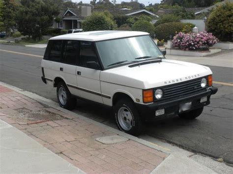 old car repair manuals 1991 land rover range rover navigation system buy used 1991 range rover classic hunter addition in san diego california united states