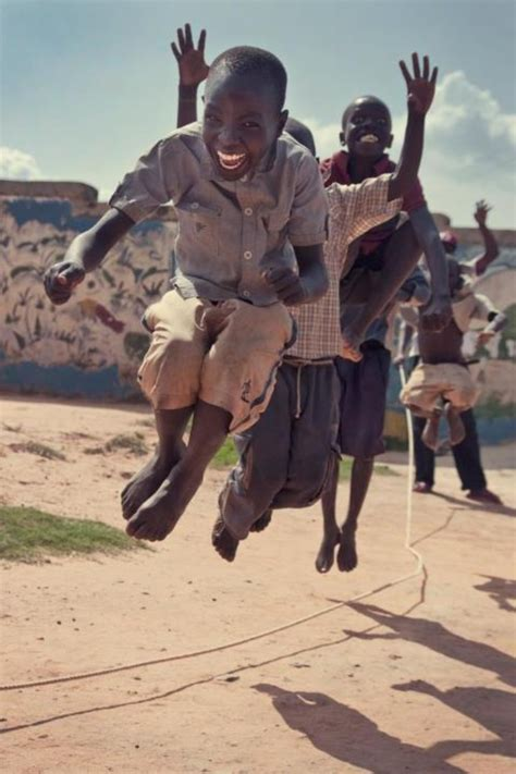 Happy African Kid Meme - happiness is jumping rope children a sad hard life