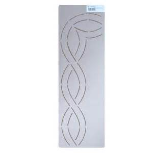 quilt border templates 222 3 inch cable border quilting stencil
