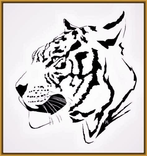 imagenes para dibujar tigres dibujos de tigres blancos para colorear fotos de tigres